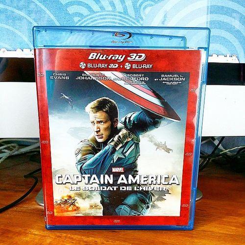 Arrivage du jour : Bluray Captainamerica le soldat de l'hiver 3D WinterSoldier