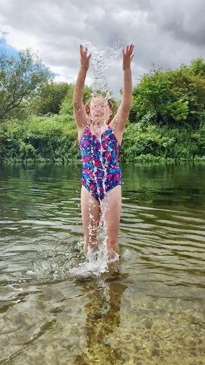 River Life River Water Droplets Water_collection Splash Enjoyment Enjoying Life Droplets Fun Water Having Fun Childhood Week On Eyeem