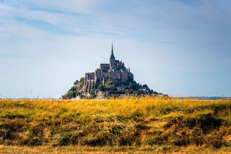 View of mont saint-michel