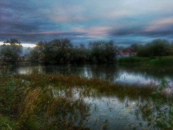 Water Lake Cloud - Sky Sky Nature Beauty In Nature Waterfront Тула