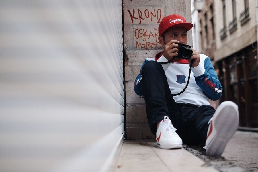 Lifestyles Leicacamera Nike Brussel Street Photographer Supreme Hypebeast  Leicaq