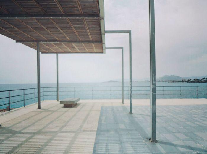 Scenic view of promenade