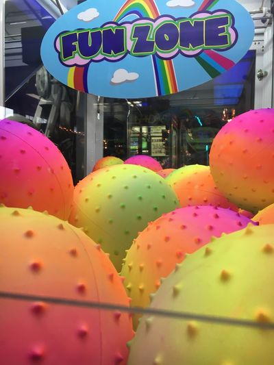 Fun Zone Fun Arcade Arcade Games Arcade Game Balls Bouncy Balls Color Colorful Colored Balls