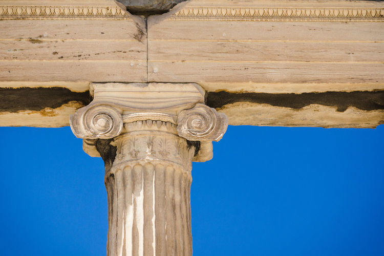 Parthenon Acropolis Ancient Architectural Column Architecture Capital Cities  Column Famous Place Low Angle View Monument Part Of Parthenon The Past Tourism Travel