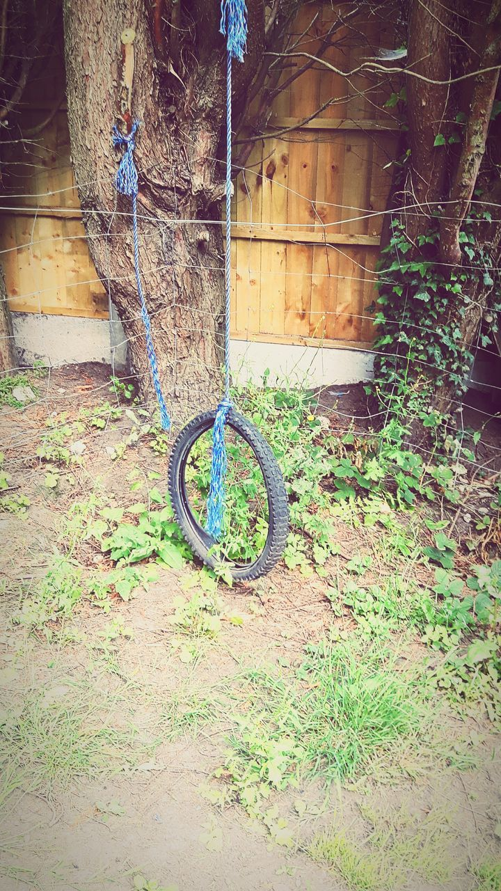 bicycle, wheel, no people, transportation, outdoors, day, stationary, tire, tree, architecture, nature