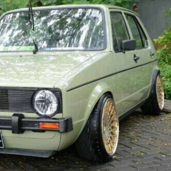 Thanks Roger Barrett for selling me these wheels! Looking forward to seeing and hearing the latest mk1 golf with our new age shop and the new age power plant! VAG Mk1 Haldex TSI low