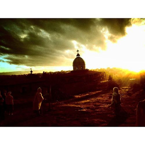 AddisPicOfTheDay Sunrise Day8ofTheEthiopianCalander AbaKiros Church GoroMichael Addis  Addisababa Ethiopia Ethiopian EthiopianOrthodox EthiopianOrthodoxTewahedoChurch Humility Africa GoodMorningAddis