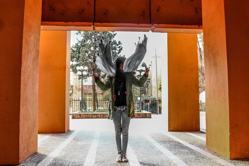 PouriaNaseri© Girly Girls Taking Photos Beauty Tehran, Iran Lovely Canon 70d BestEyeemShots Taken By Me Bestoftheday PoucoFotografia© Hello World Persian Girl Check This Out Tehranpic Orange Color