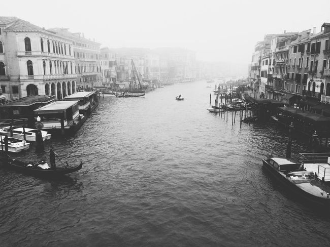 Venezia Architecture Building Exterior Built Structure Canal Transportation Mode Of Transport Nautical Vessel City Day Gondola Outdoors Travel Destinations Water Gondola - Traditional Boat No People Tour Bagpacking Europe Trip