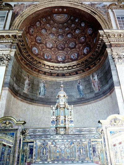 Place Of Worship Religion Architecture Spirituality Indoors  Ceiling Built Structure History No People Day City Napoli