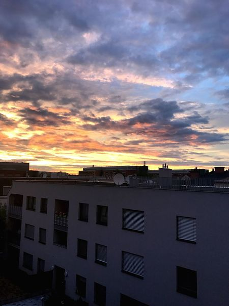 Sunset Architecture Building Exterior Built Structure Sky Cloud - Sky No People Outdoors City Nature Day City Architecturelovers Neighborhood Map Cloud Horizon Horizon Over Land Clouds And Sky Sunlight Vienna