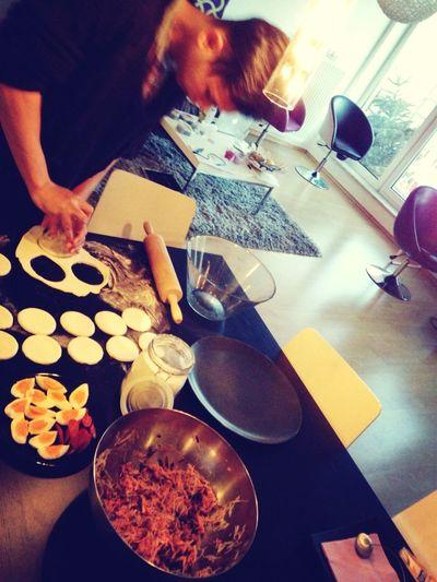 Homemade Banh Bao
