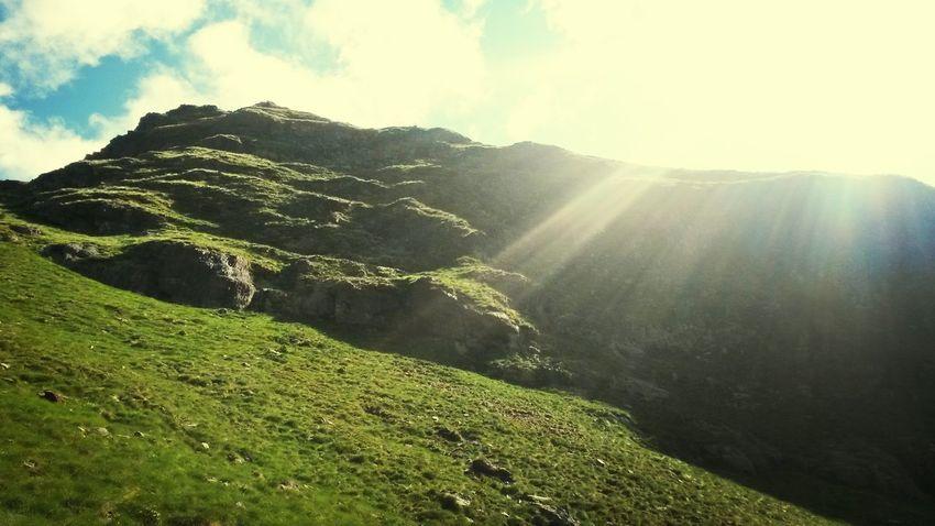 Mountain Nature Sun ☀ Raggi Di Sole