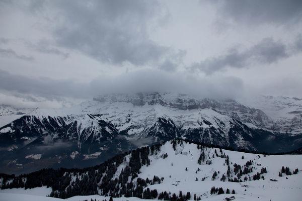 Alps Cold Temperature Landscape Majestic Mountain Nature Ski Snow Snowcapped Snowcapped Mountain Winter