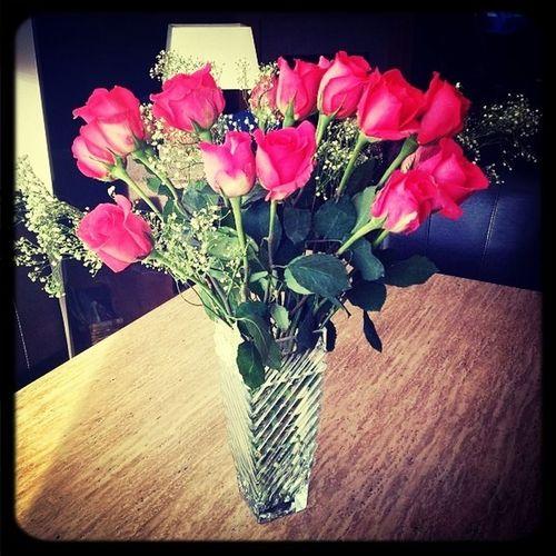 The Flowers My Dad Got Mi <33