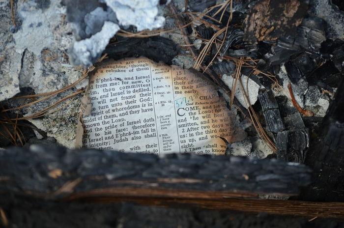 Fire Destruction Bible Ruins