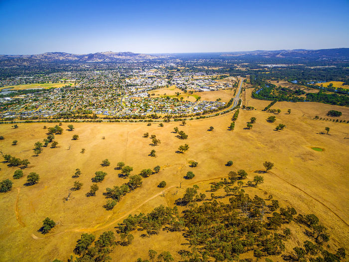 Aerial view of Wodonga - town in Victoria, Australia Albury Australia Australian Landscape Drone  Panorama Panoramic Scenic Aerial Aerial Landscape Aerial View Beautiful Woman Beauty In Nature Bright Day Clear Sky Day Drone Photography Environment Landscape Nature No People Non-urban Scene Outdoors Plant Scenic View Scenics Scenics - Nature Sky Tranquil Scene Tranquility Tree Wodonga