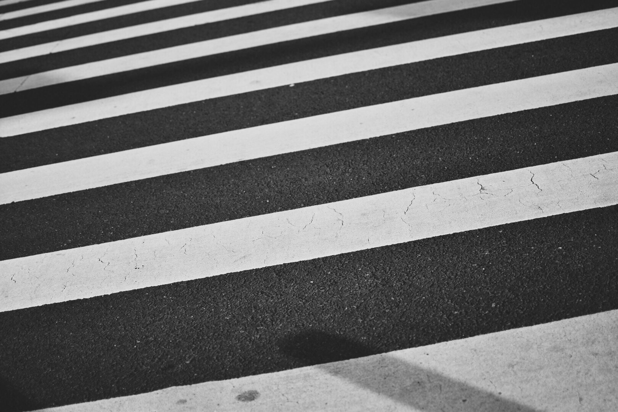 striped, full frame, backgrounds, road marking, high angle view, pattern, architecture, repetition, blinds, no people, day, outdoors, line, parallel, vibrant color