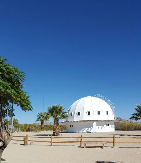 Clear Sky Copy Space Outdoor Blue Sky White Dome Tranquil Scene Architecture White Structure