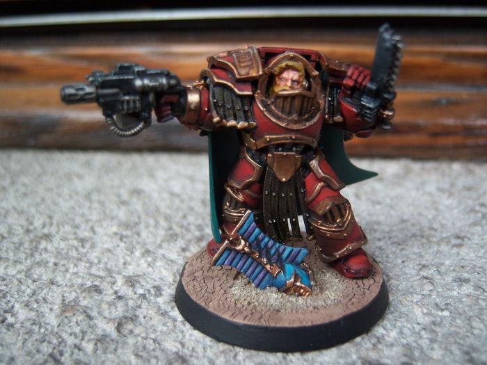 #angelisanguinari #bloodangels #cataphractii #comandante #commander #terminator #warhammer #warhammer30000 Warhammer30k