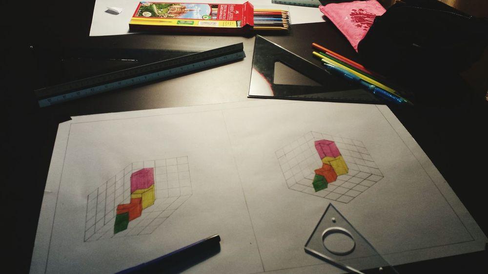 Homework Colors Industrial Design University