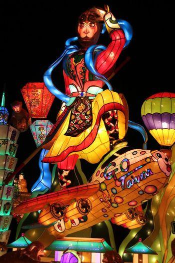 Monkey King Lantern Festival Lantern Festival Taiwan Lanternfestival Taking Photos Check This Out