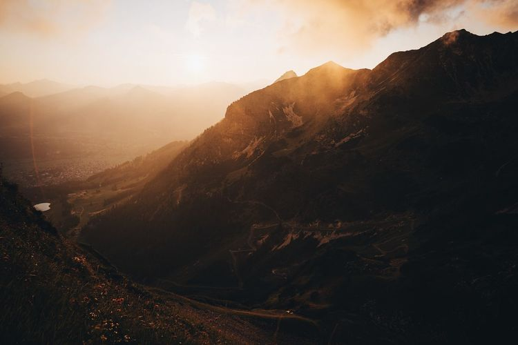 Alpen Bavaria EyeEm Best Shots Nature Landscape Sunset Hiking Vscocam Mountains Fog