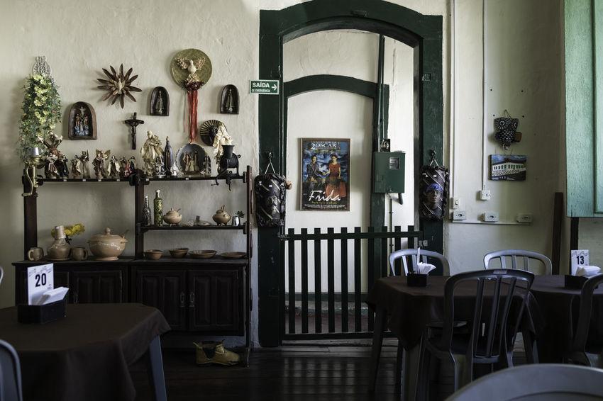 Beautiful Organised Day Frida Khalo Goiás,GO Home Interior Indoors  No People Restaraunt