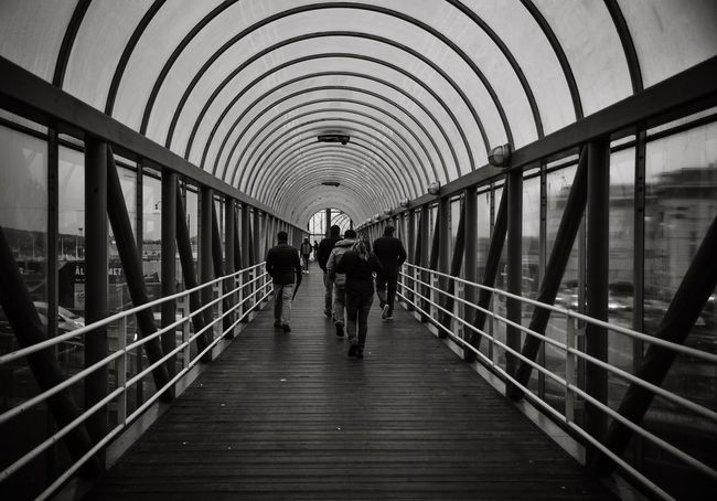 Adapted To The City Real People Architecture Indoors  Built Structure The Way Forward Lifestyles Walking Large Group Of People People Sweden Göteborg, Sweden B&w Street Photography Wet City EyeEmNewHere