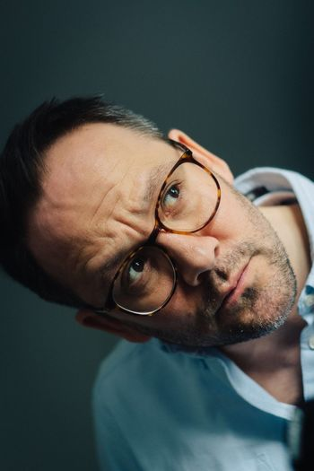 Playing around with my Canon and VSCO Eyeglasses  Portrait One Person Mature Men Looking At Camera Headshot Mature Adult Glasses Indoors  Front View Studio Shot Close-up Real People One Man Only Men Businessman Day Young Adult Only Men People Portait