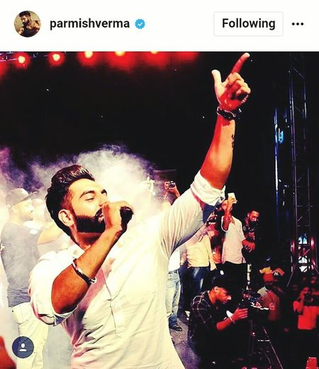 Parmish verma is cool Arts Culture And Entertainment Music Performance Dj Electric Guitar Waist Up Popular Music Concert Indoors  Nightclub One Man Only Rock Music Technology One Person People Adults Only Adult Young Adult Only Men Night First Eyeem Photo