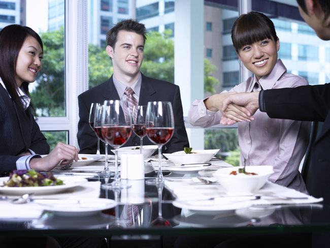 group of business people at restaurant Business Celebration Discussion Food And Drink Full Suit Happiness Lunch Refreshment Teamwork Well-dressed Wine Glass Businessman Businesswomen Collabration Colleague Communication Food And Drink Formalwear Group Of People Hotel Lunch Meeting Restaurant Success Togetherness Wine