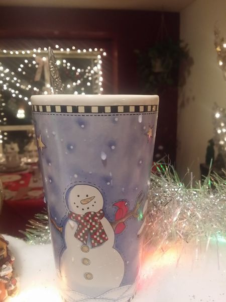 Winter December 2015 Wintertime Winter_collection Snowman Christmas Lights Christmas Decorations Cups And Mugs Mugs Christmas Ornaments Its Cold Outside Interior Views