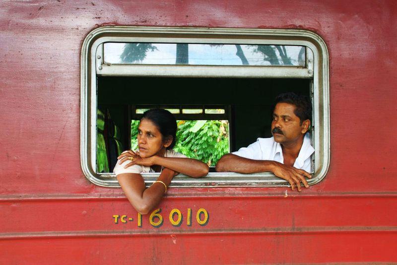 Kandy train station, Sri Lanka aprile 2016 Sri Lanka Kandy Train Station Train Tracks Trip Traverse City Two People Transportation Miles Away Miles Away