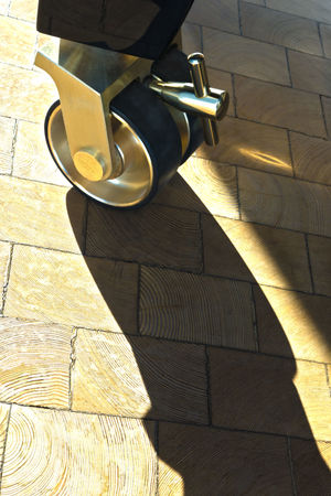 Brass Change Direction Growth Rings Long Shadows Metal No People Piano Reflections Roll Shadow Tiles Unlock Vintage Wheel Wood - Material Wooden Floor