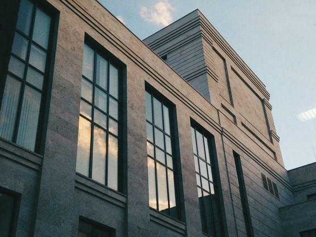Armenia Yerevan Yvn Architecture Outdoors Windows Sky Clouds