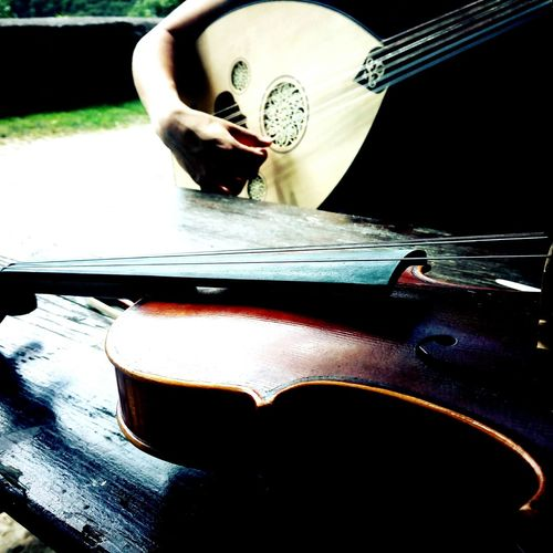 Music Brings Us Together East And West  Arabic Folk Oud  Violin Quarter Tones