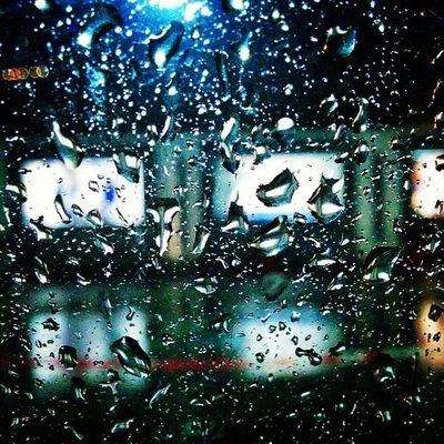 The taste of first seasonal rain..on the window pane..