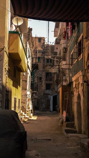 Built Structure Building Exterior Architecture City No People Outdoors Sky Day Old Buildings Poor And Dirty Land Crowded Messy Life Messy Street Poor Life Slums Slum Slum Area The Secret Spaces BYOPaper! Place Of Heart