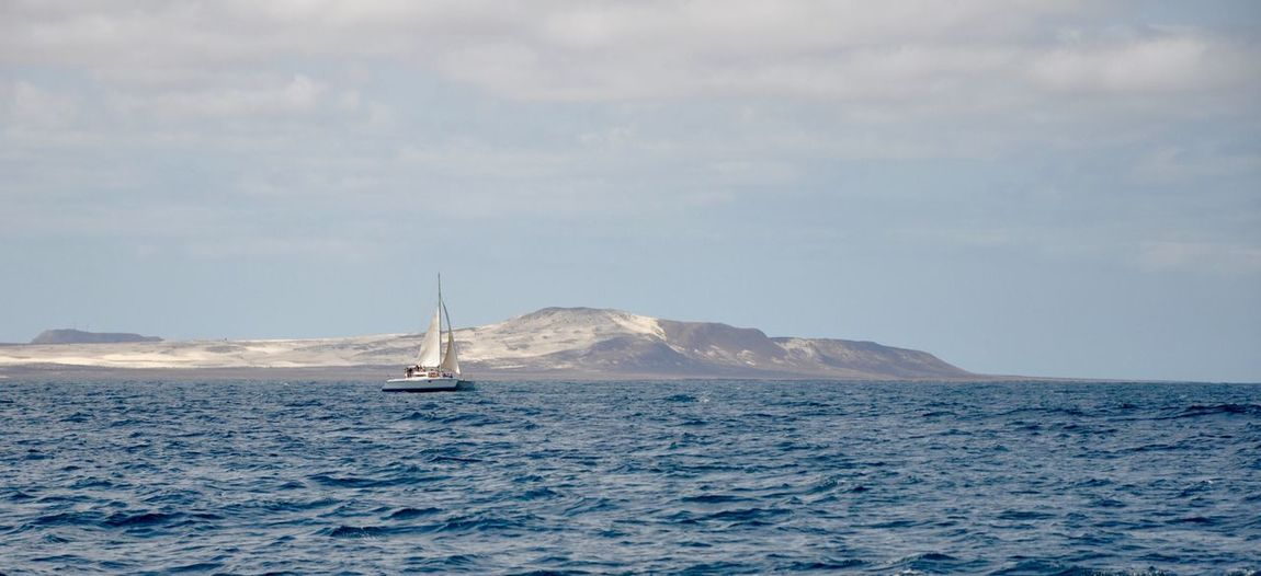 L Sea Transportation Sky Water Beauty In Nature Nautical Vessel Nature Mode Of Transport Scenics Cloud - Sky Outdoors Tranquility No People Tranquil Scene Sailboat Sailing Day Horizon Over Water