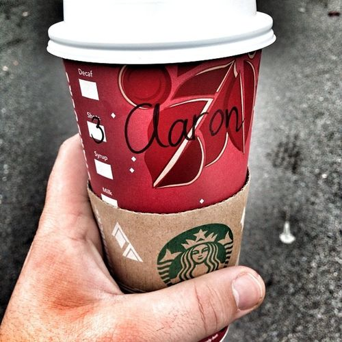Triple Venti Salted Caramel Mocha Starbucks
