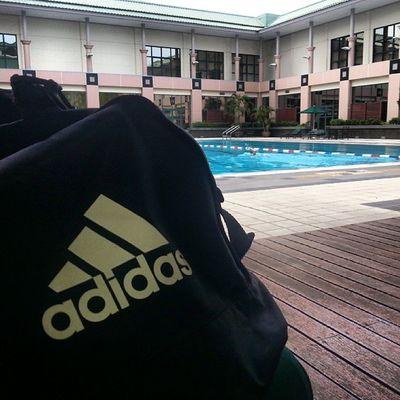 Perfect weather Swimtime JPMCFitness Brunei Move Exercise InstaBruDroid Andrography Weekend AidilFitri Random Adidas