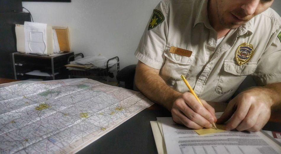 Ranger Forest Officers Quarters Maps Writing Occupation