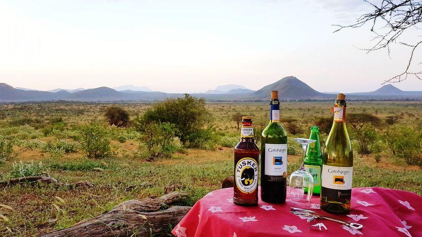 Kenya Bottle Mountain No People Outdoors Landscape Nature Scenics
