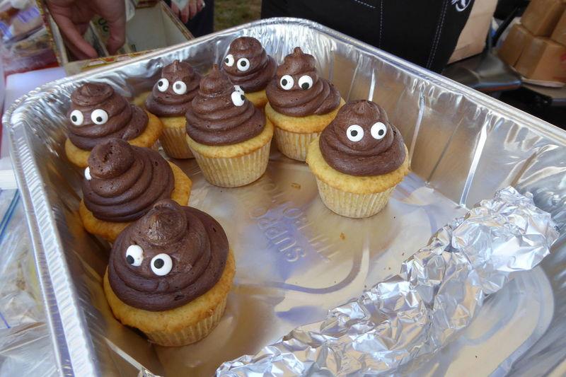 I assure you, these don't taste that way! Emoji Emojis Emojijoke Emoji Style Cupcakes Cupcake Notwhatitseems Notwhatyouthink Food Foodporn Sweets Sweetsurprise Goodfood