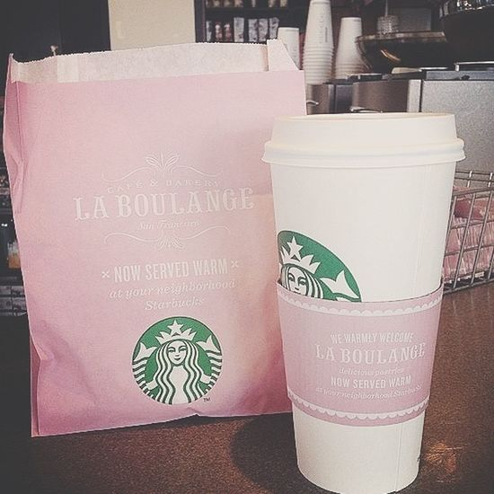 pink everything today ☕