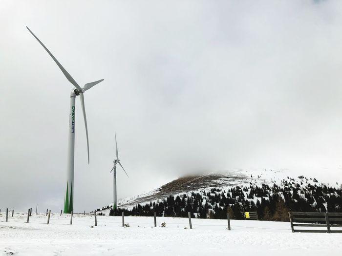 Wind mills in