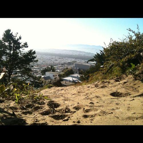 """An inland """"beach"""" high above Ocean Beach and the SF Bay"""