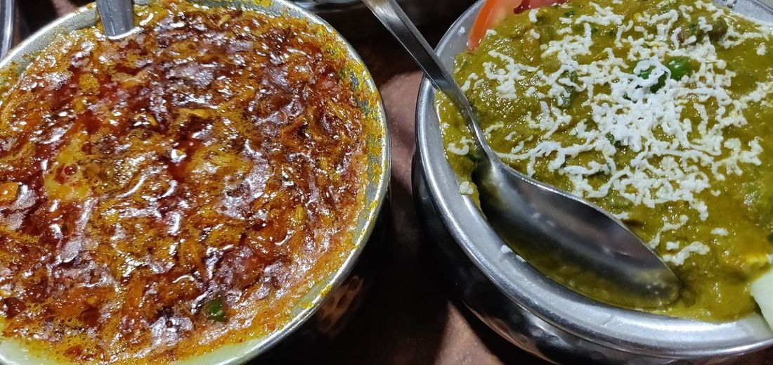 Close-up Food And Drink Prepared Food Curry Gravy Rice - Food Staple Dish Indian Food