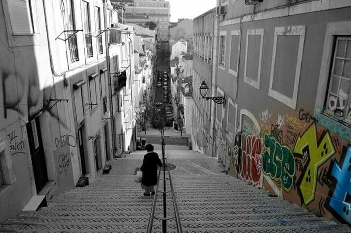 Lisbona Lisboa Portugal Graffiti Streetphotography